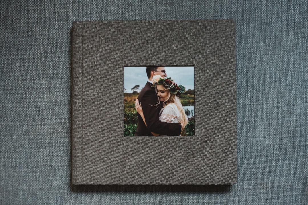 album ślubny wykonany przez profesjonalnego fotografa ślubnego